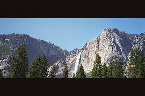 Yosemite : Panoramic View